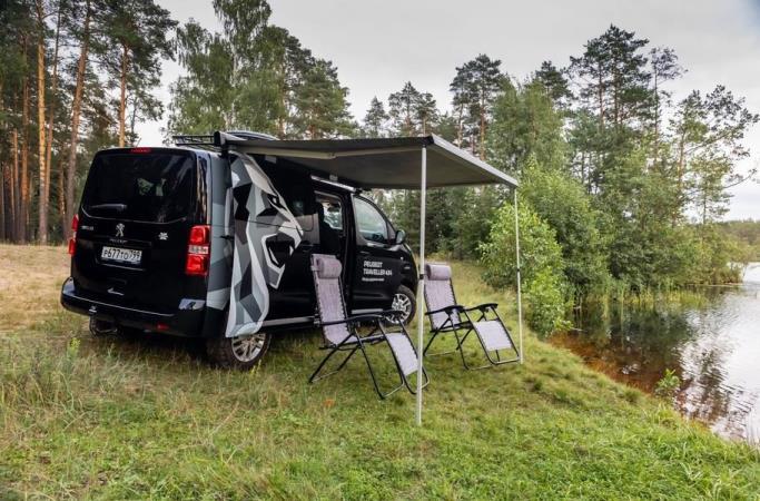 Peugeot Traveller, минивэн, спецверсия